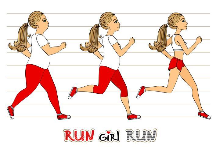 Correr mujer perder peso progresar