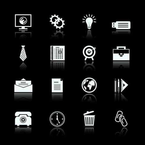 Affärsspecifika piktograms uppsättning