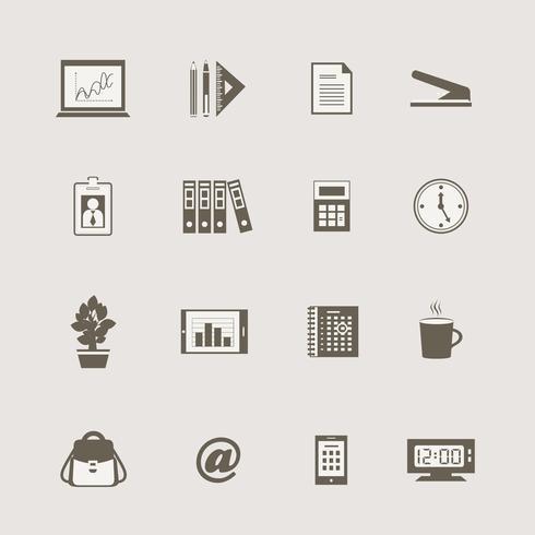 Business brevpapper levererar internet samling vektor