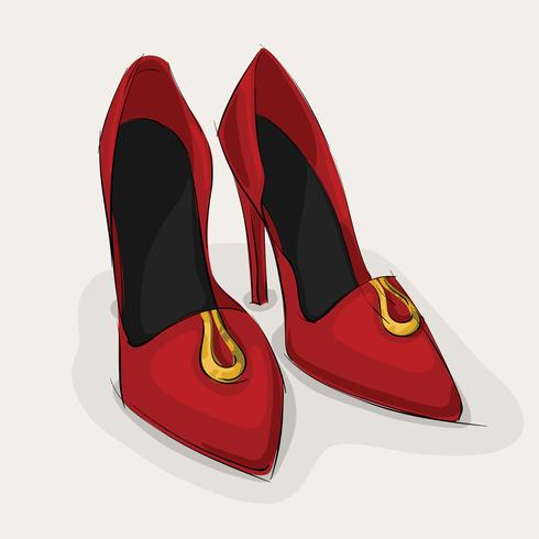Sapatos de couro clássico