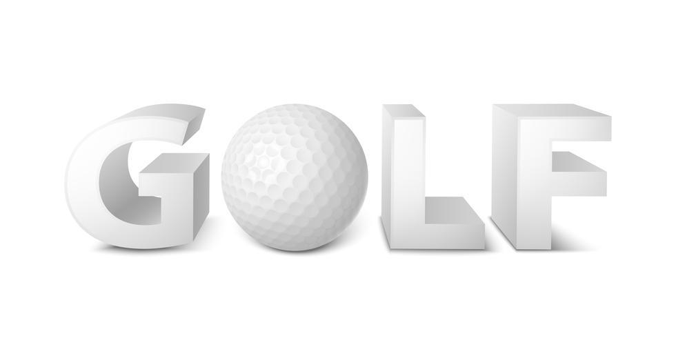 Golfskylt