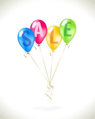 Flyga ballonger med försäljning marknadsföring