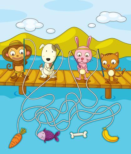 Hoja de pesca