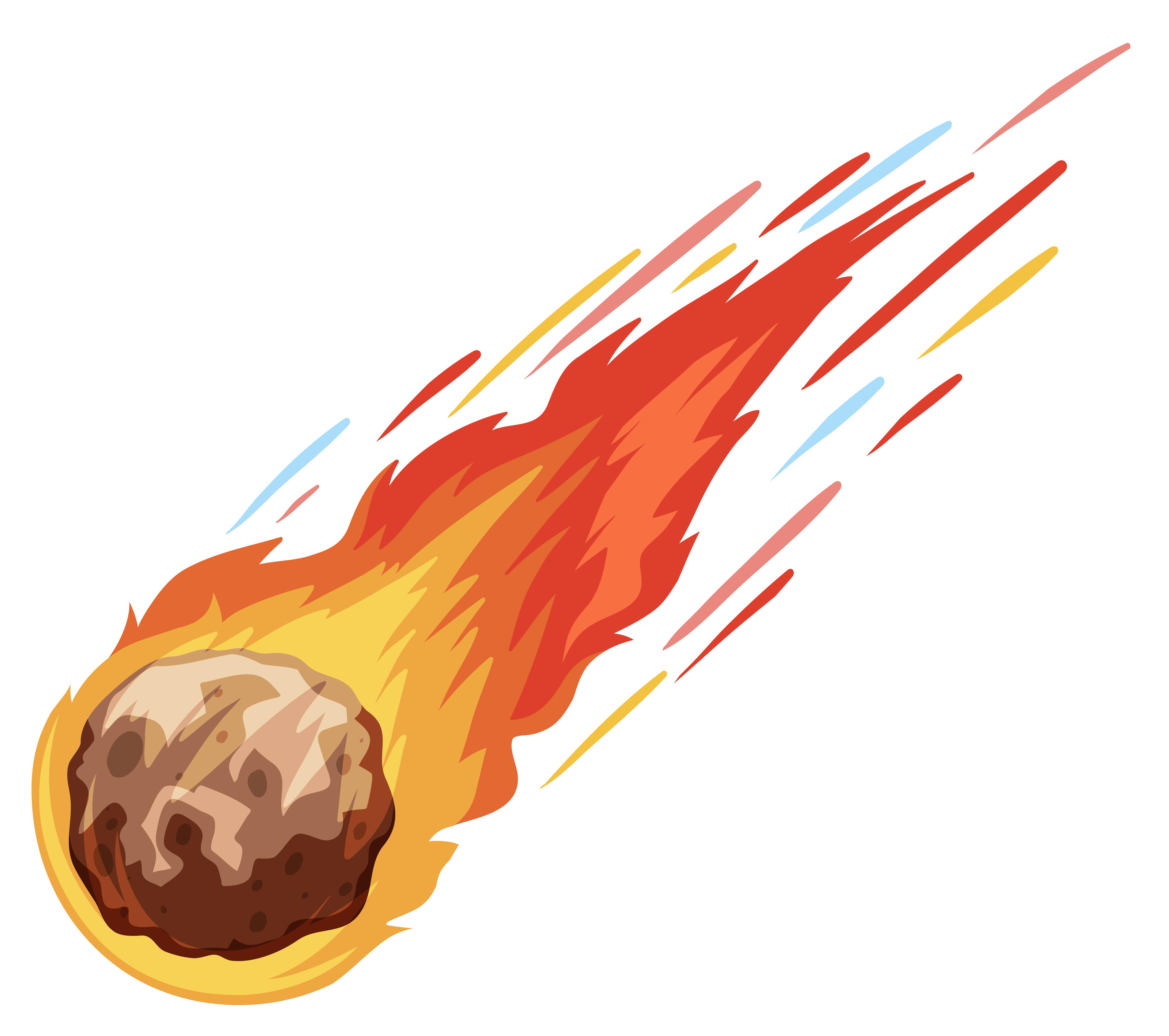 Метеорит картинка для детей