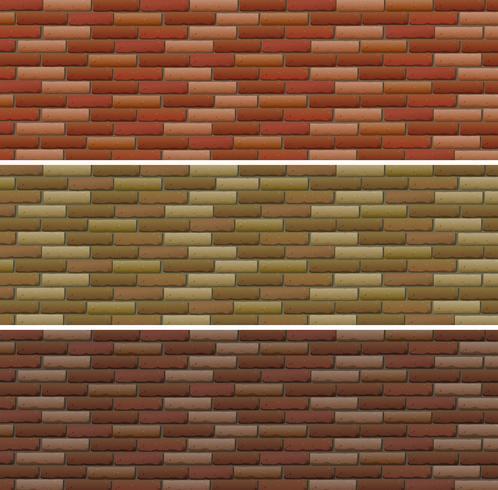 Road and wall design con mattoni