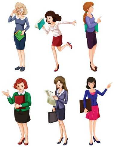 Different businesswomen