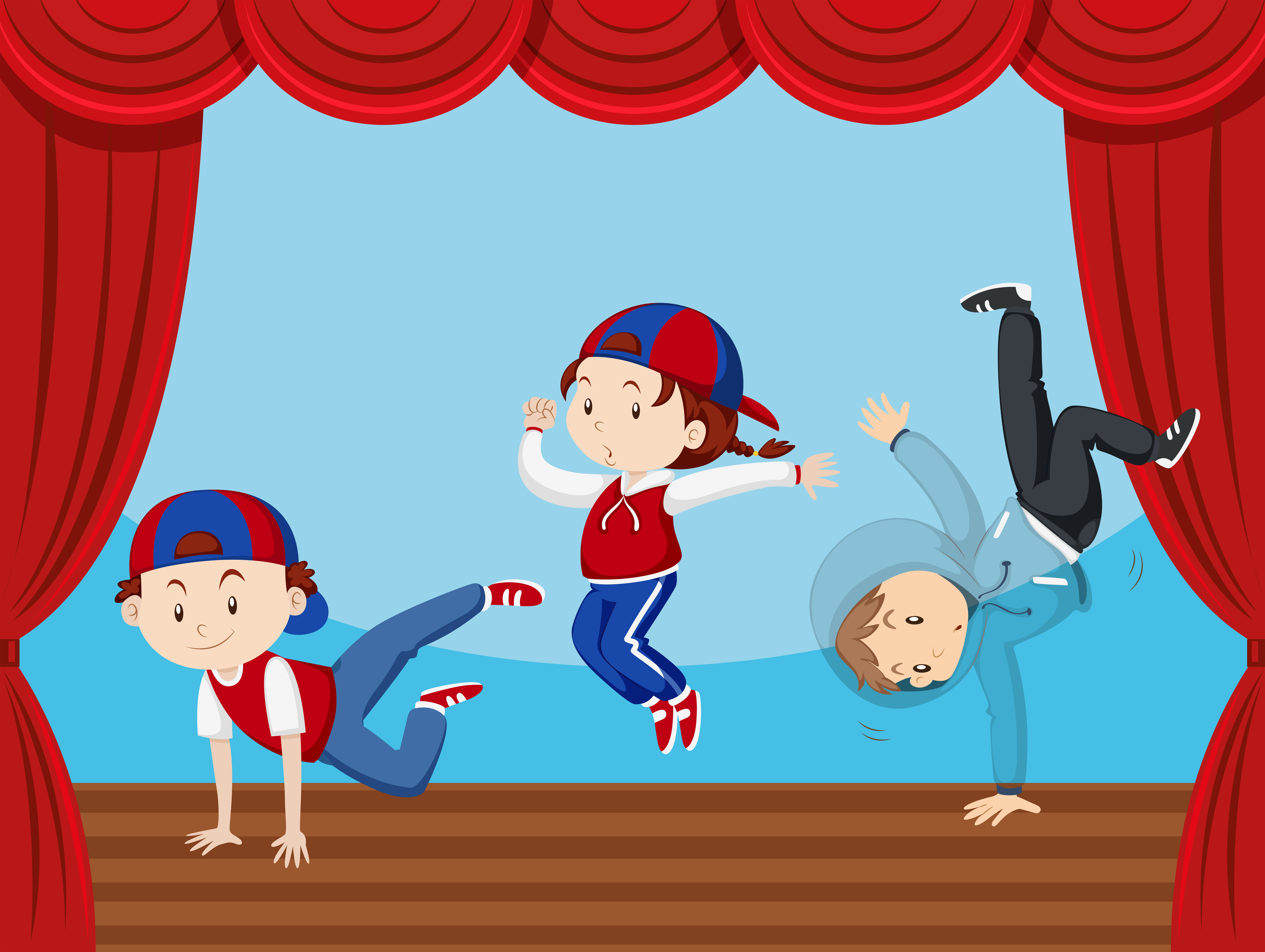 Best Child Acting Illustrations, Royalty-Free Vector ...  |Acting On Stage Cartoon