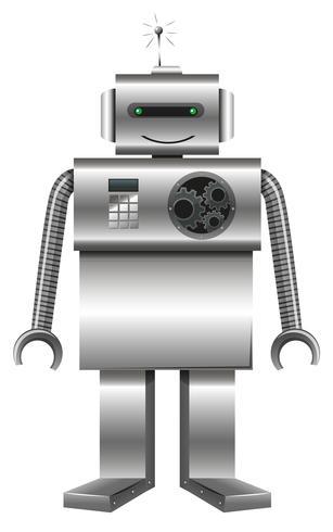 Robot gemaakt van metaal