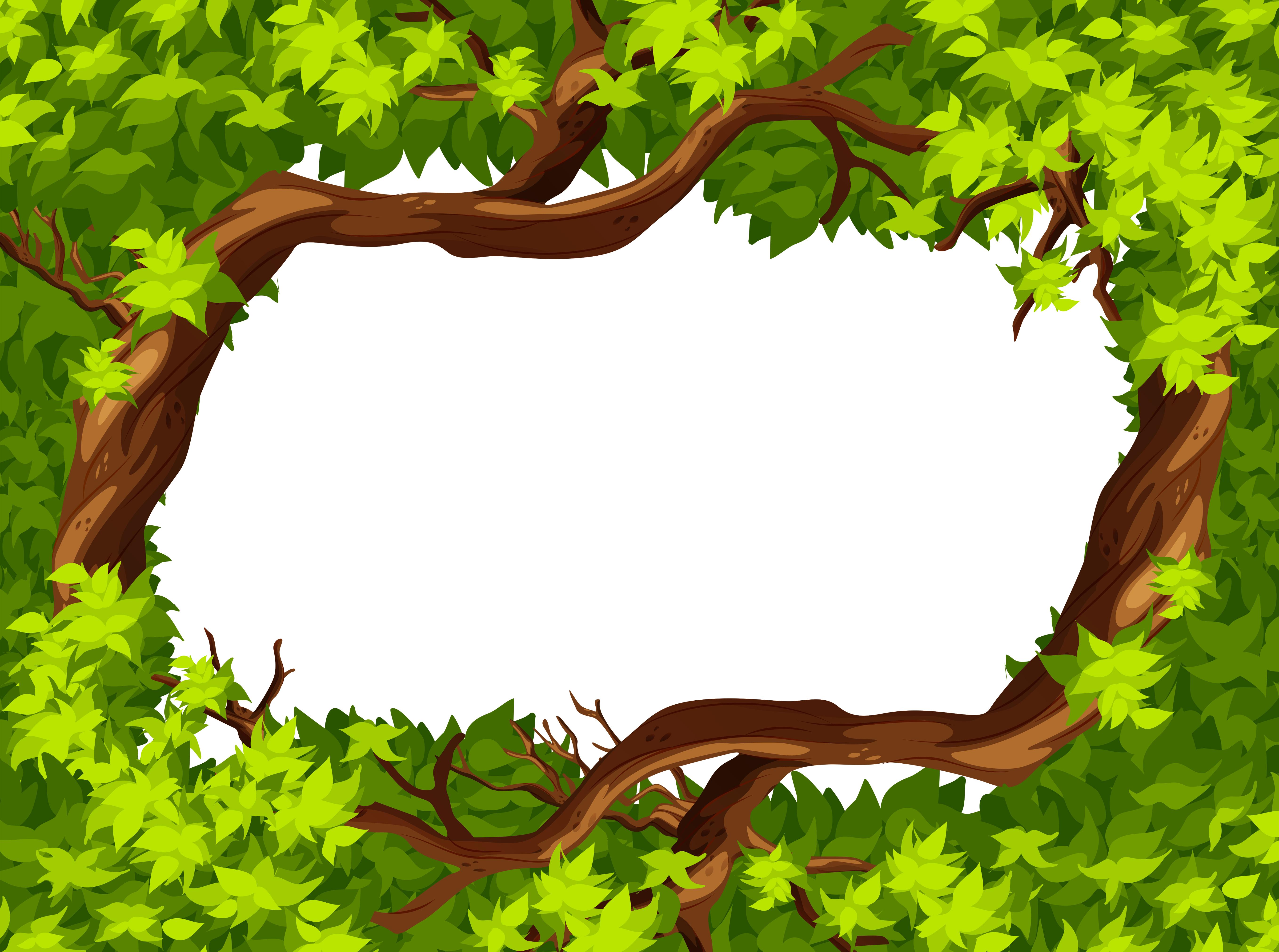 樹葉邊框 免費下載 | 天天瘋後製