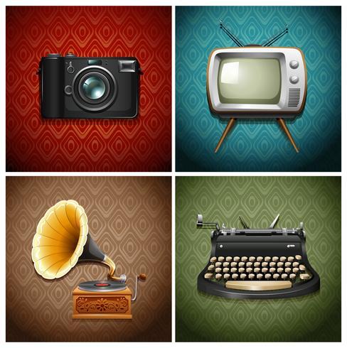 Retro media and audio devices