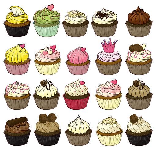 cupcakes vettore