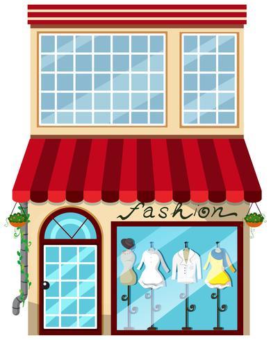 Un magasin de mode pour dame