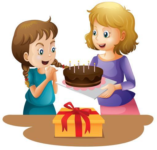 Surprise cake happy birthday
