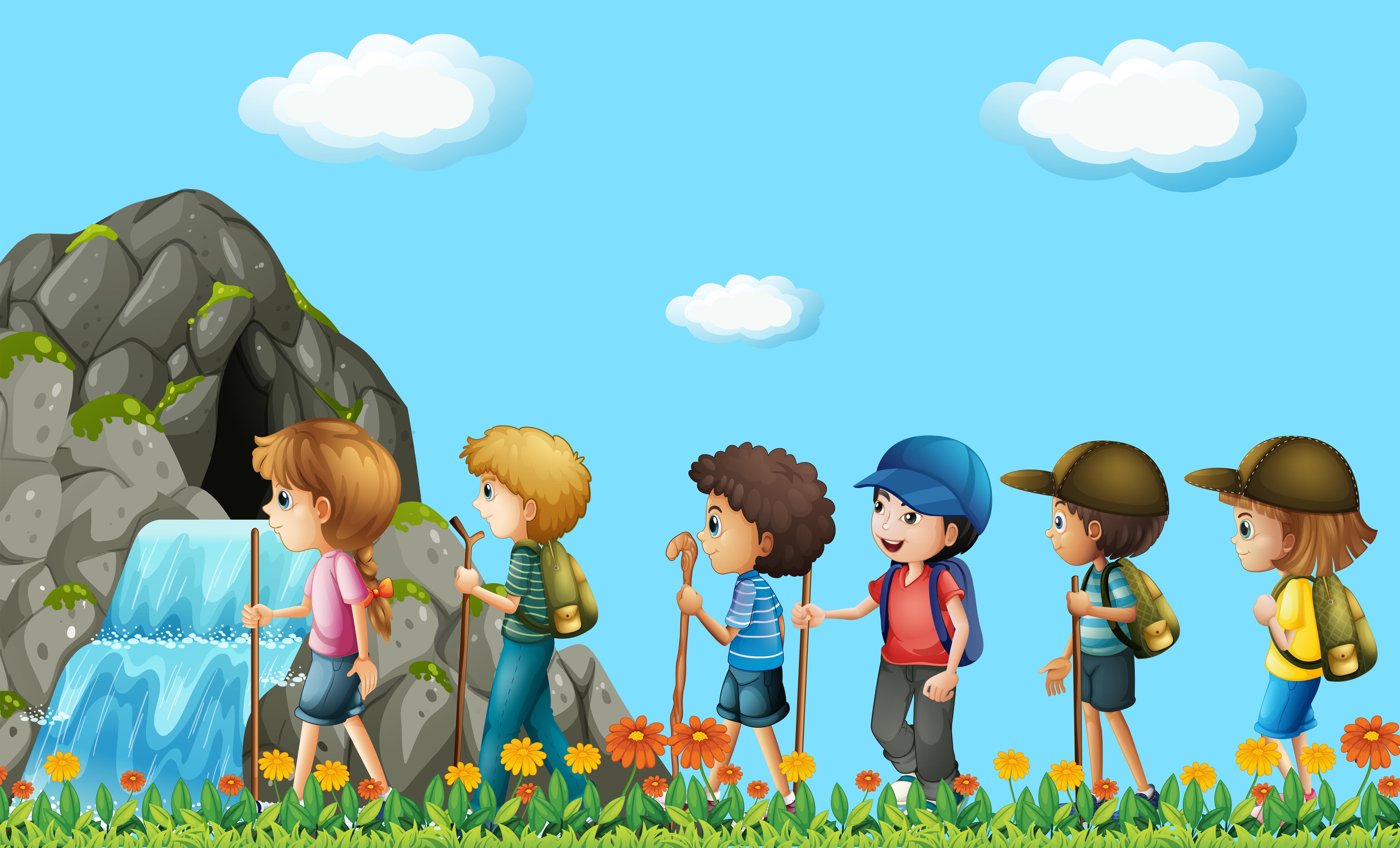 Картинки туристические игры для детей