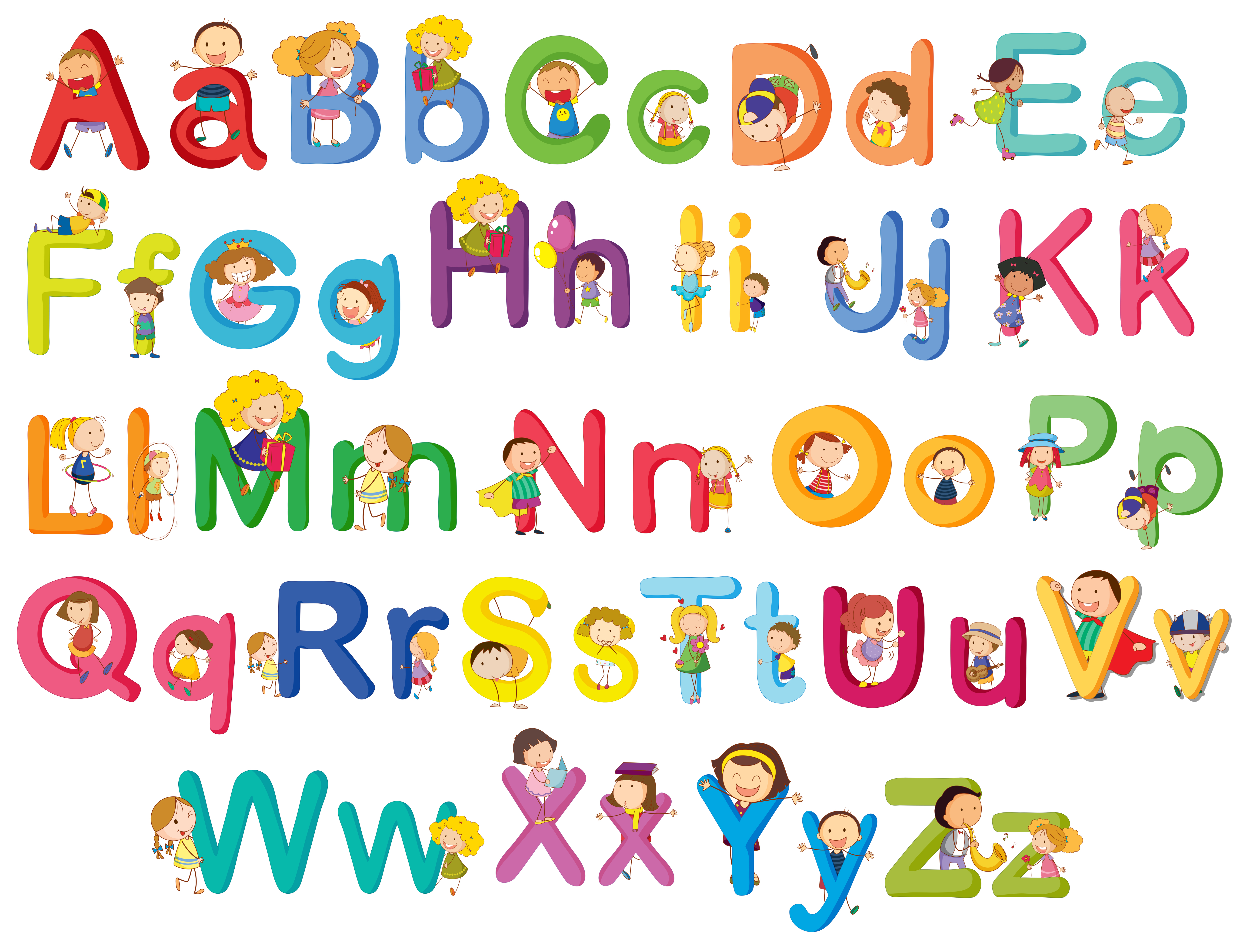 cartoon alphabet free vector art 2 975 free downloads vecteezy