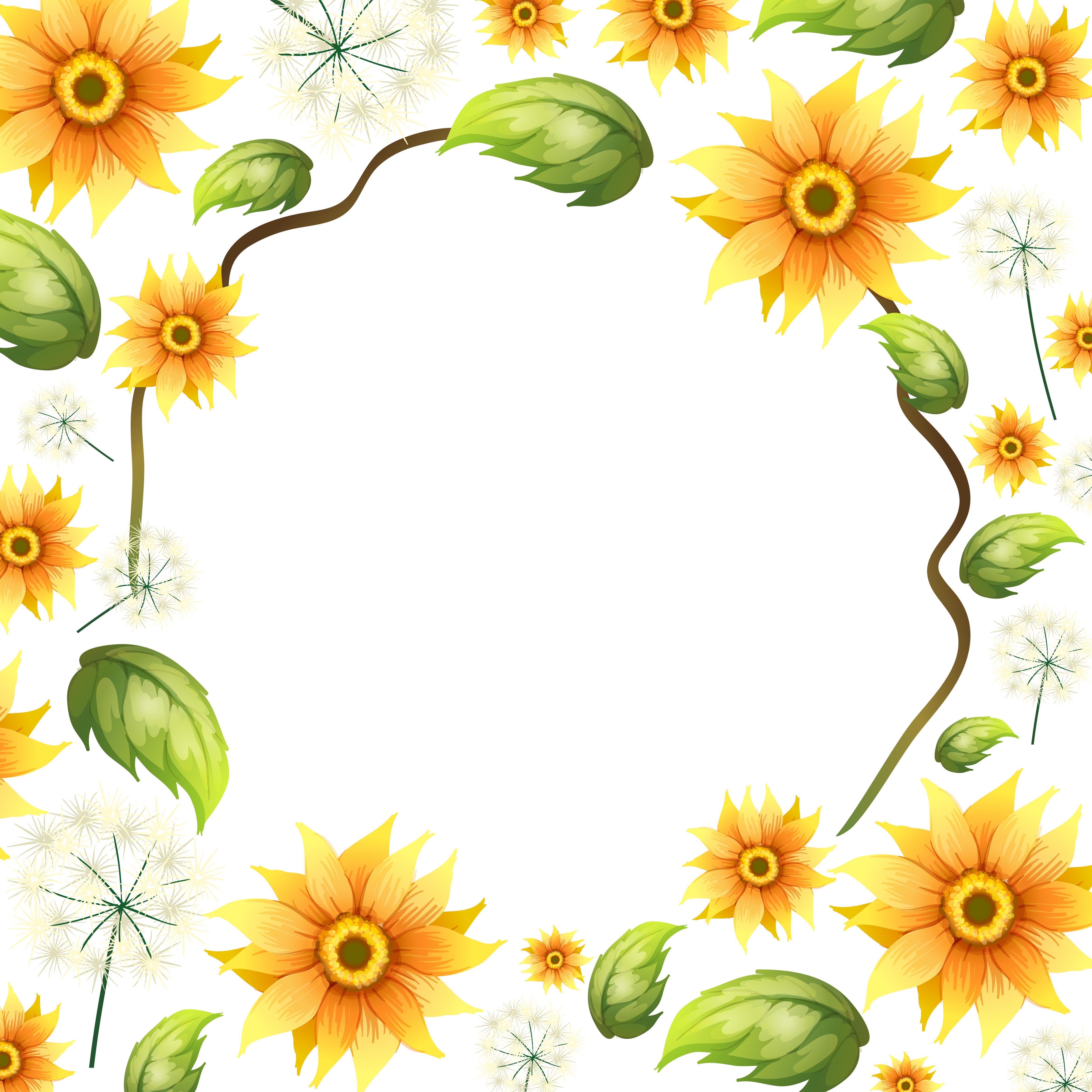 Sunflower Clipart - (38929 Free Downloads)