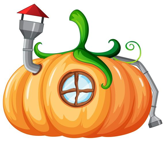 Enchanted pumplin house design