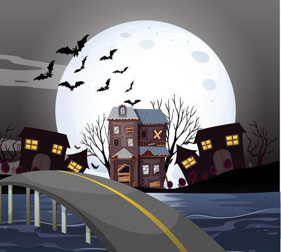 Casa infestata nella notte di luna piena