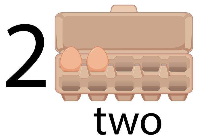 Due uova in età prescolare, scuola,