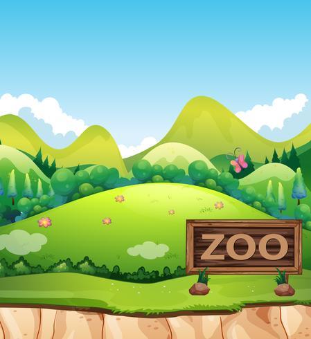 Ein Zoo in der Natur