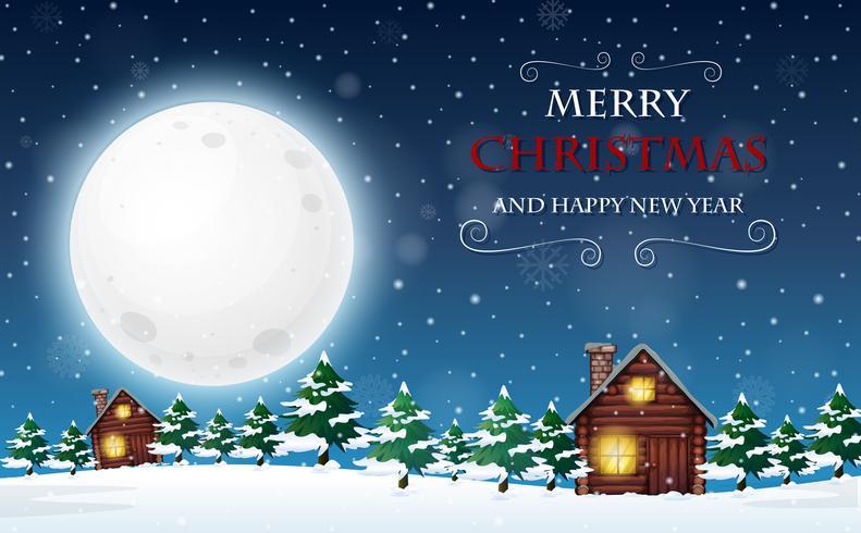 Buon Natale e felice anno nuovo modello