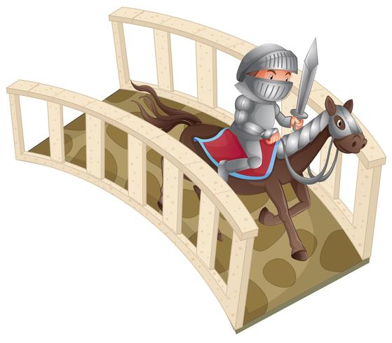 Cavaliere e ponte