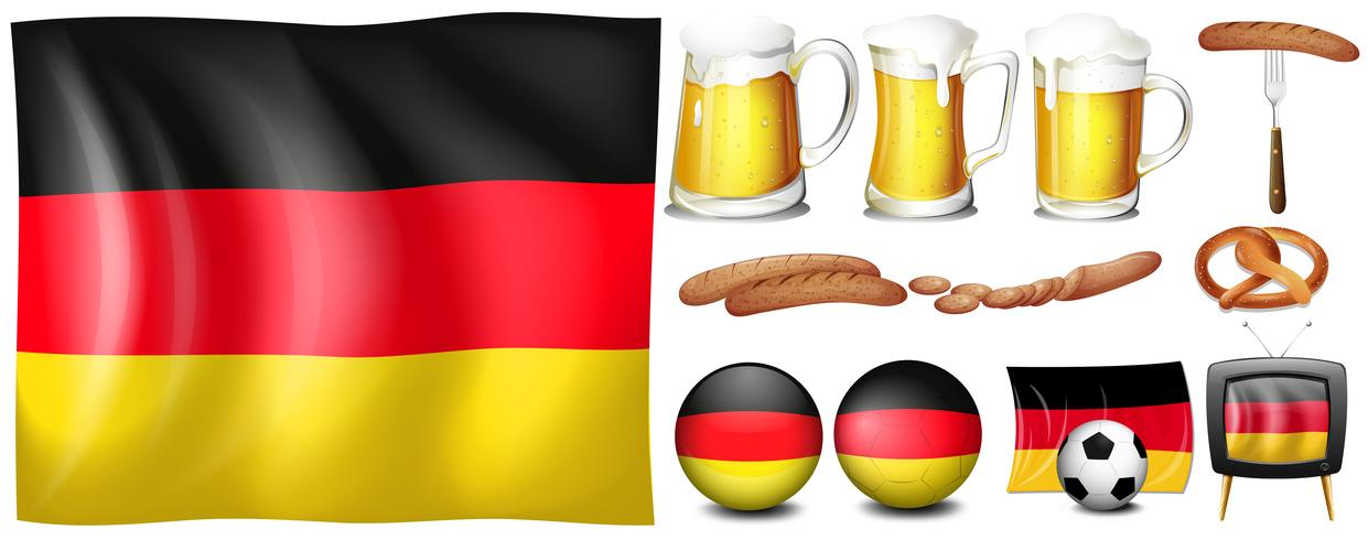 German set