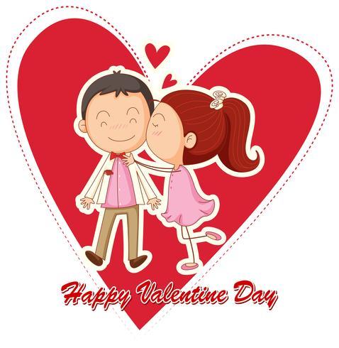Feliz San Valentin vector