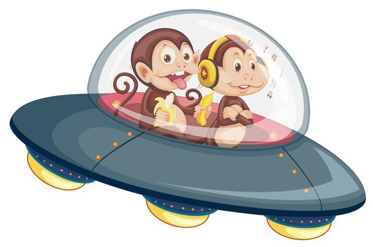 Aap op de UFO