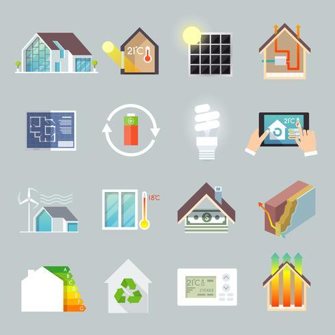 Maison d'économie d'énergie