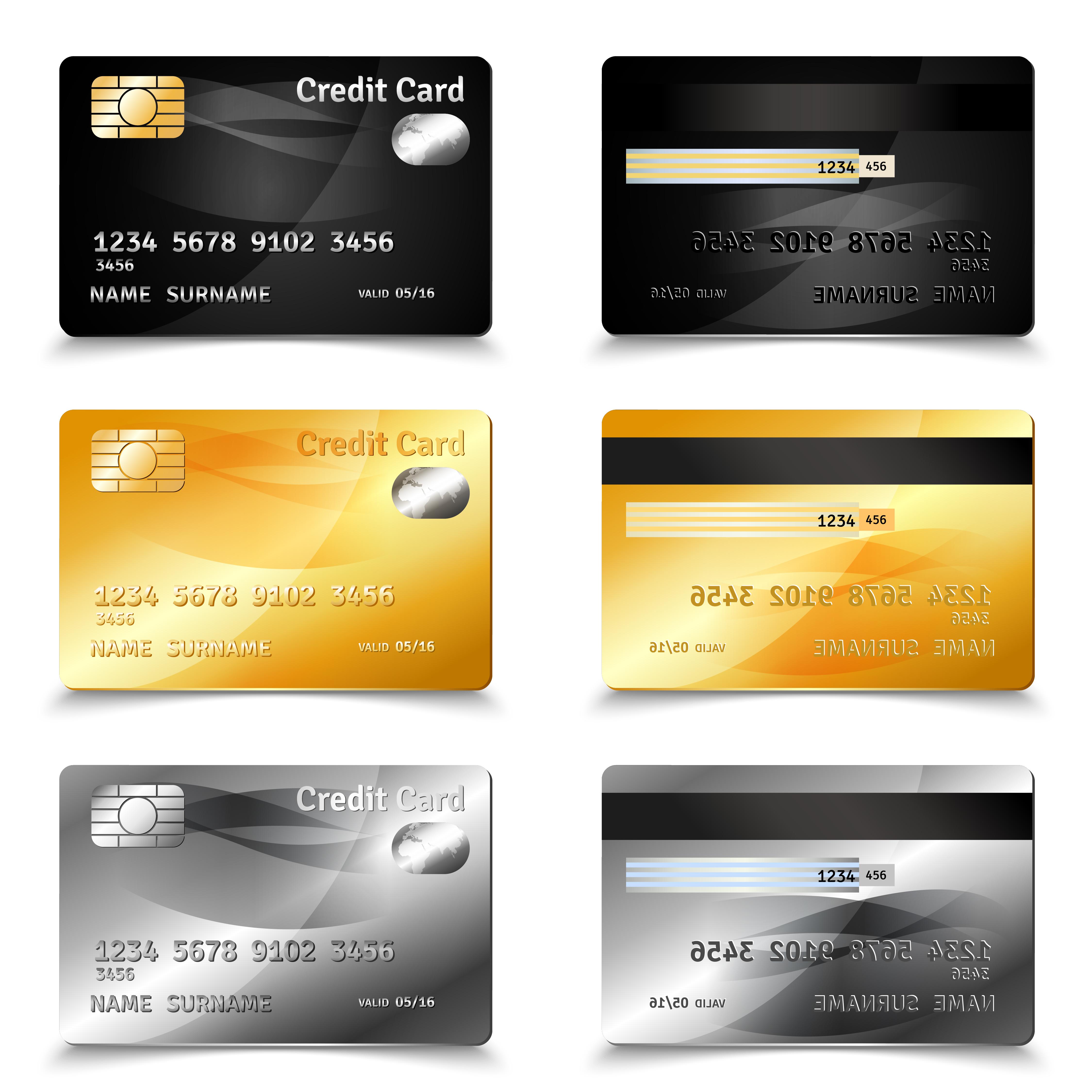 credit card design  download free vectors clipart