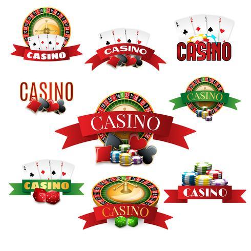 Casino emblemen instellen