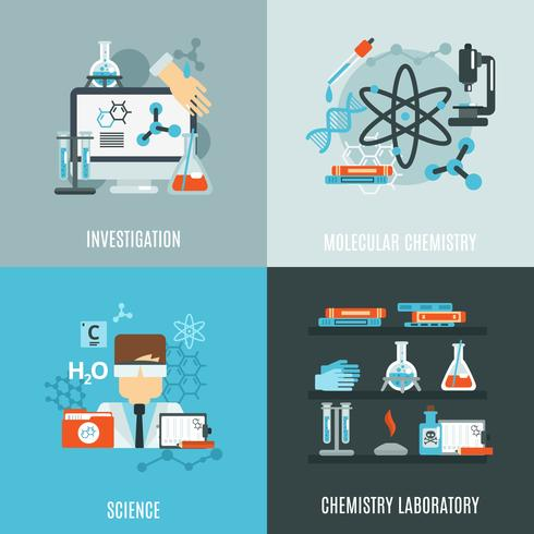 Chemistry Flat Set