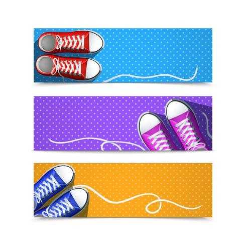 Gumshoes-Banner-Set