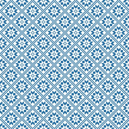 Traditional scandinavian pattern. Nordic ethnic seamless background