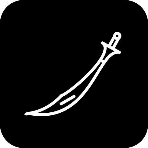 Vector Sword-pictogram