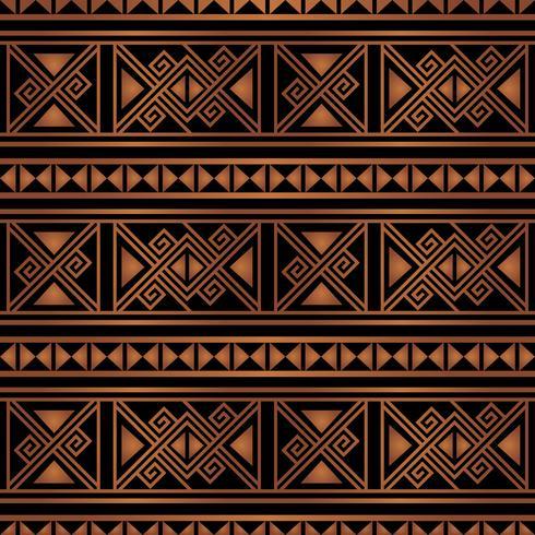 fundo colorido brilhante étnica sem costura padrão listrado nas cores laranja e pretas