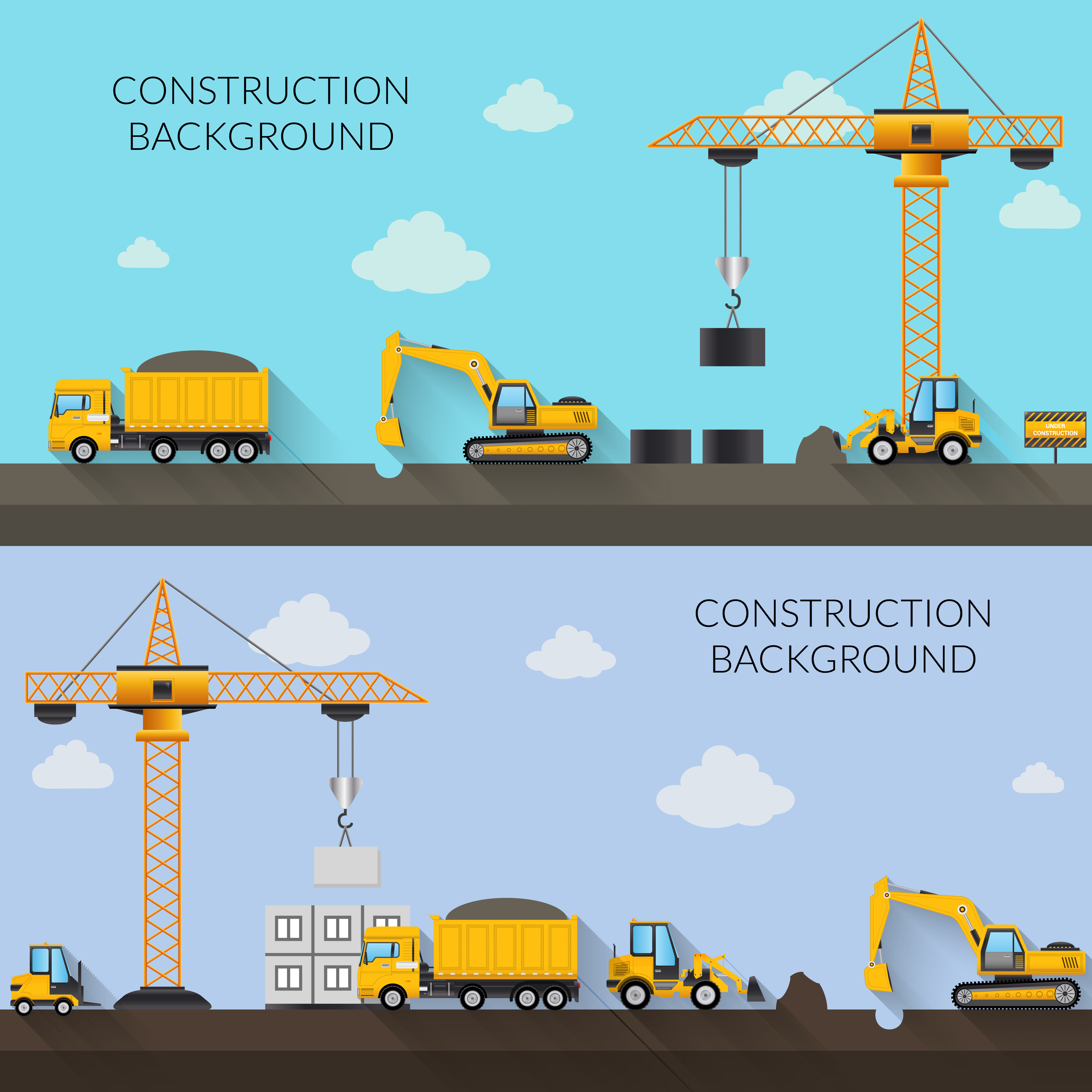 Construction Background Illustration - Download Free ...