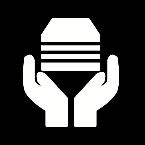 Vector icono de aceptación
