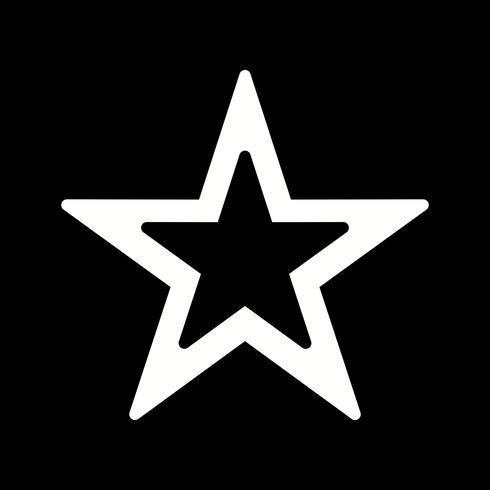 Vector ícone de estrela