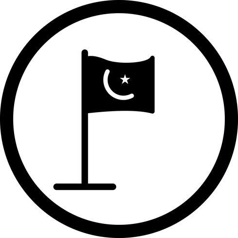 Vektor islamische Kennzeichnungssymbol