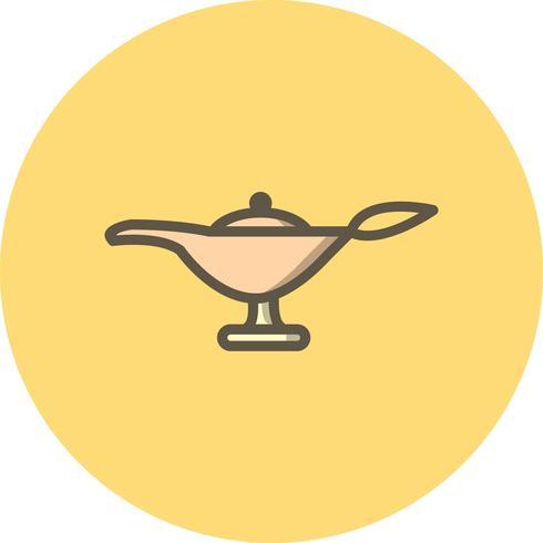 Vektor-Lampen-Symbol