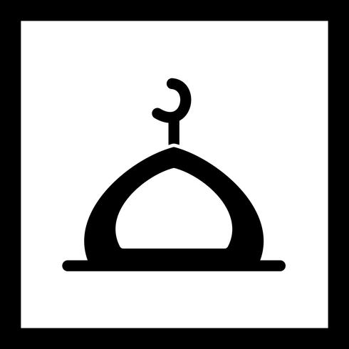 Vector Mosque Icon