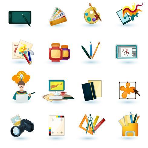 Designer-Icons gesetzt