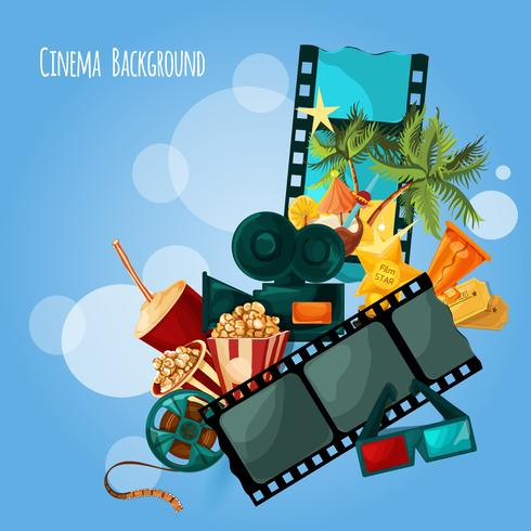 Cinema Background Illustration vector