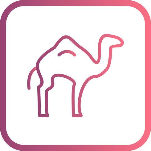 Icona del cammello vettoriale
