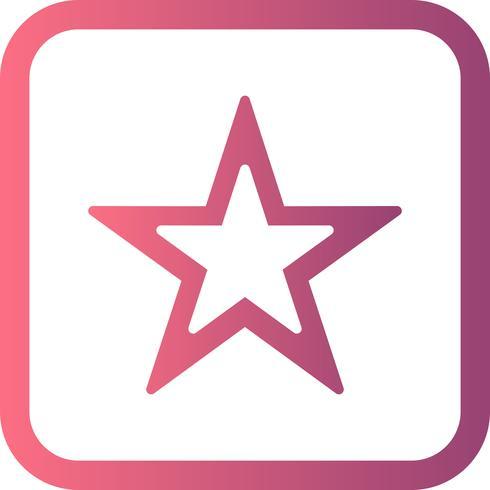 Vector icono de estrella