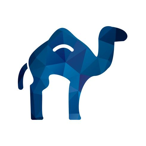 Vector icono de camello