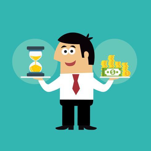 Bedrijfsleven is geld concept