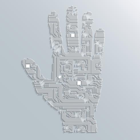 Platine Hand